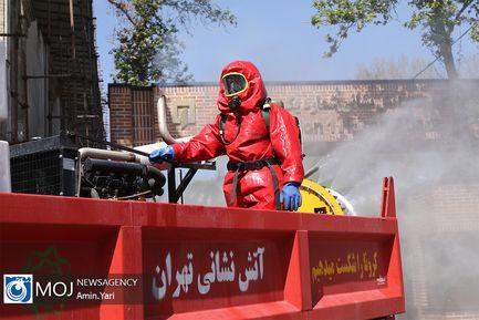 ضدعفونی و پاکسازی حسن آباد تهران