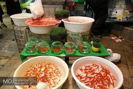 حال و هوای بازار تجریش در ایام نزدیک عید