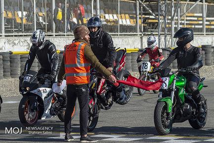 دومین راند رقابت های موتورسواری سرعت