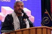 بازدید فرمانده کل سپاه از مناطق سیل زده