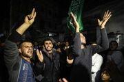 فلسطینیها پیروزی بر دشمن صهیونیستی را در غزه جشن گرفتند