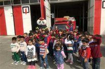 2هزار و 600 نفردانش آموزان وپیش دبستانی آموزش ایمنی وآتش نشانی را فرا گرفتند