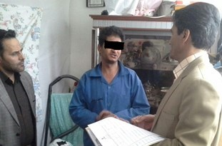 صحنه قتل دختربچه 7 ساله در مشهد بازسازی شد