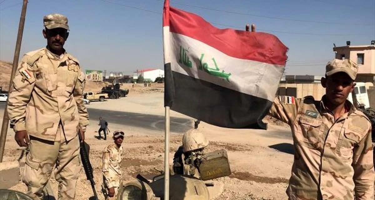 کشته شدن ۴ نظامی عراقی بر اثر انفجار بمب