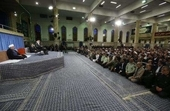دیدار مسئولان نظام و سفرای کشورهای اسلامی با رهبر انقلاب
