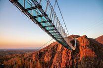 تجربه گردشگری هیجان با پل شیشه ای هیر