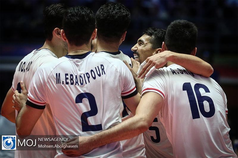 نتیجه بازی والیبال ایران و استرالیا/ تدوام صدرنشینی ایران در لیگ  ملت ها