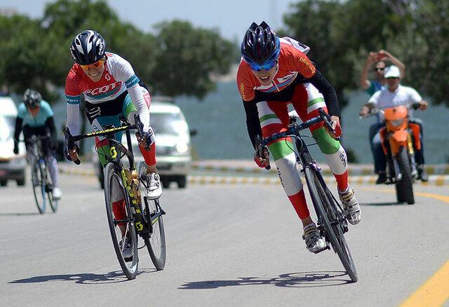 سمیه یزدانی، قهرمان ایران در مسابقات دوچرخه شد