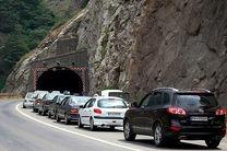 ترافیک سنگین در محور کرج چالوس