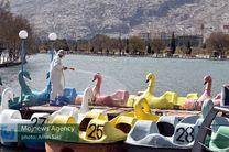 دریاچه کیو ضدعفونی شد/مردم همچنان مراقب باشند