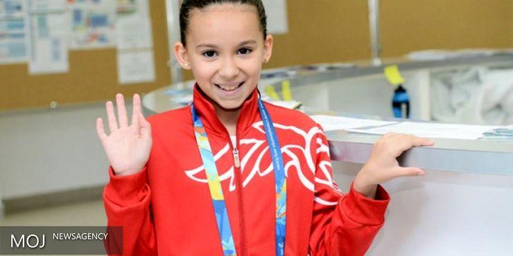 جوانترین ورزشکار ریو مسابقه داد