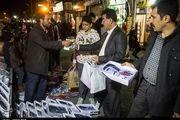 طرح ساماندهی 600 نفر از دستفروشان خیابان فردوسی سنندج