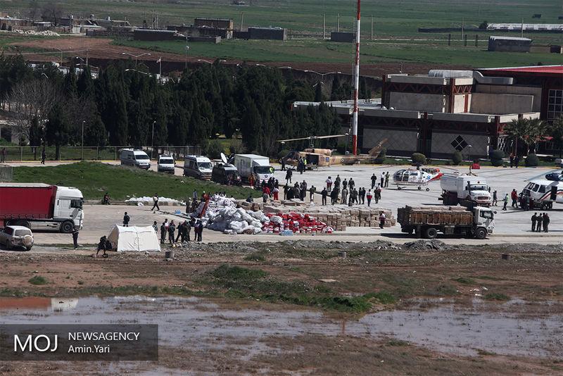 ارسال مواد غذایی و 13 خودرو امداد از یزد به مناطق سیل زده لرستان