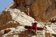 نجات 13 گردشگر گرفتار در ارتفاعات توسط هلال احمر اصفهان