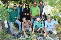 ادای احترام عوامل «انسانم آرزوست» به مرحوم سعدی افشار