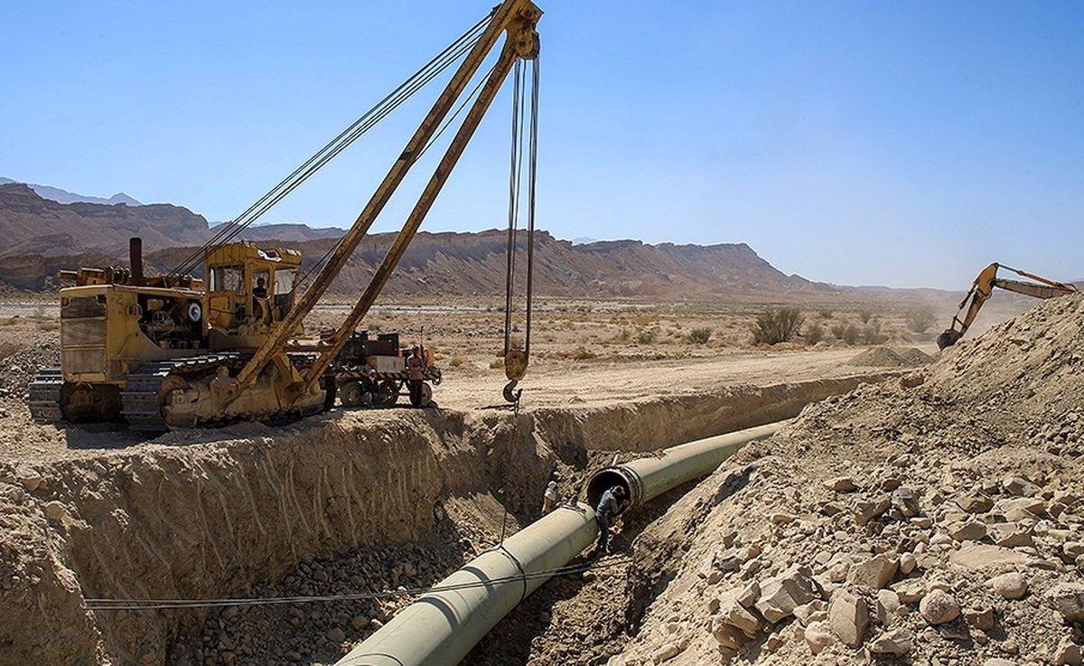 بررسی پروژه احداث انشعاب خط 30 اینچ از خط گوره - جاسک