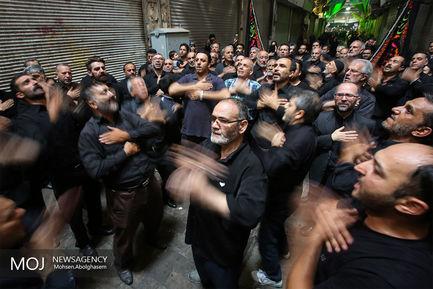 حال+و+هوای+ظهر+تاسوعا+در+بازار+تهران