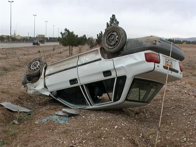 4 کشته و یک مصدوم در اثر واژگونی سواری پراید در محور شهرضا- آباده