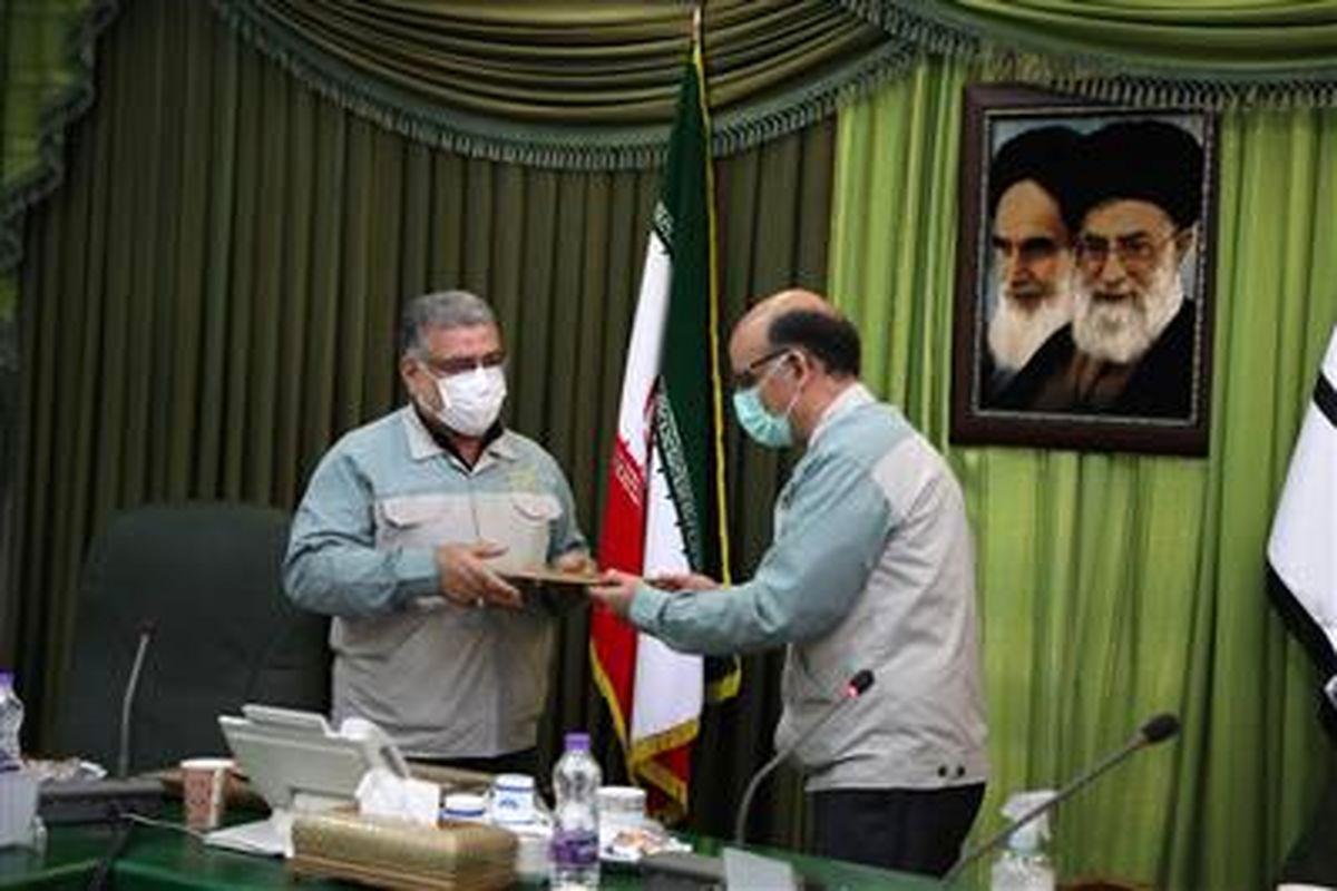 انتصاب سرپرست حراست شرکت فولاد مبارکه