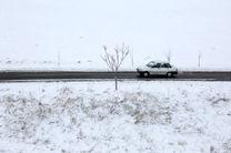 اولین بارش برف در اردبیل