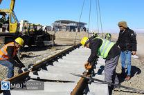 عملیات روسازی و تکمیل پل های پروژه راه آهن اردبیل به بهره برداری می رسد