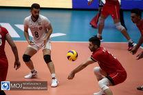 گزارش زنده بازی والیبال ایران و کانادا / ایران  3   کانادا 1