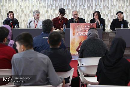 نشست خبری داوران سی و هفتمین جشنواره بین المللی فیلم فجر