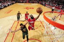 شکست نزدیک هیوستون در مسابقات امروز NBA