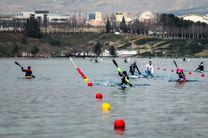 دریاچه آزادی میزبان قایقرانهای جوان
