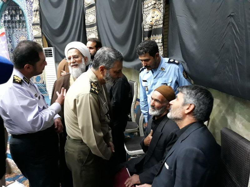 مراسم نکوداشت شهدای ارتش در حادثه تروریستی اهواز برگزار شد