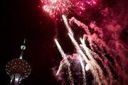 برج میلاد در شب میلاد مولای متقیان نورافشانی می شود