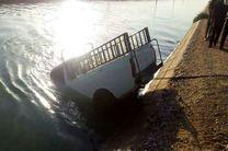 مرگ دو کارگر افغانی در پی سقوط وانت به کانال آب در دزفول