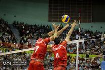 پخش زنده بازی والیبال ایران و کوبا از شبکه سه سیما