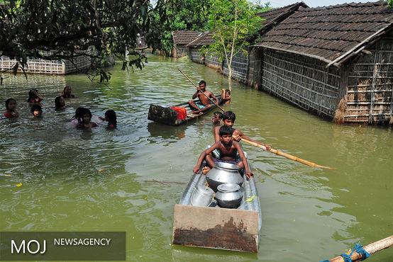 سیلاب های مرگبار در هند + عکس