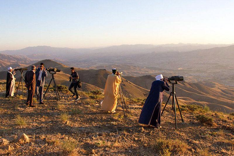 اعزام گروه های استهلال هلال ماه شوال به نقاط مختلف کردستان