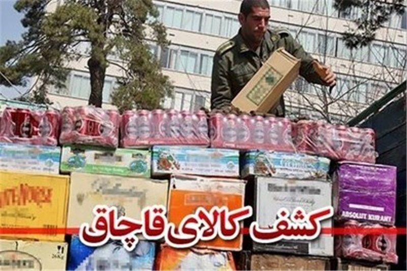 توقیف 400 میلیون ریال مواد خوراکی قاچاق در شهرضا