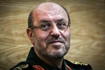 تبریک سردار دهقان به قالیباف و تجلیل از خدمات لاریجانی در مجلس