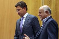 دیدار وزیر انرژی روسیه و وزیرنفت ایران