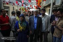 عارف در حسینیه جماران رای خود را به صندوق انداخت