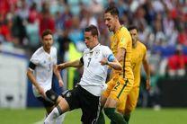 فوتبال جام کنفدراسیون ها؛ برتری دشوار قهرمان جهان مقابل استرالیا