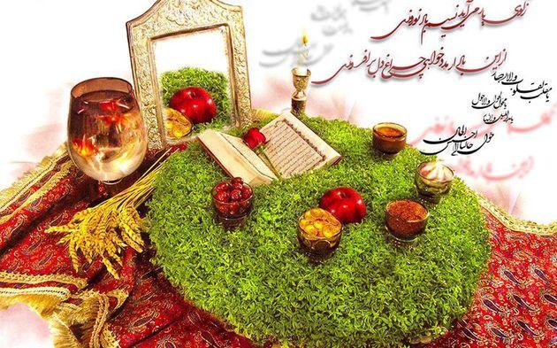 اجرای ویژه برنامه تحویل سال نو در 46 امامزاده شهرستان کاشان