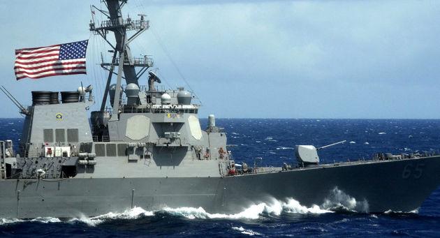 افزایش تنش میان آمریکا و روسیه در دریای مدیترانه