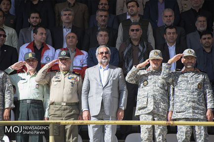 رزمایش اقتدار عاشورایی بسیج سپاهیان محمد رسول الله (ص) در کردستان