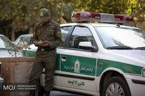 گشت ویژه پلیس در تهران به مناسبت روز عرفه