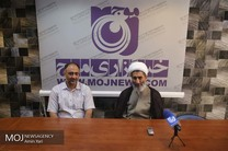 حضور معاون فرهنگی قوه قضاییه به مناسبت روز خبرنگار در خبرگزاری موج