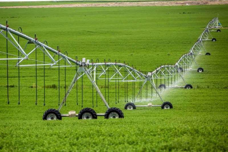 آبیاری 103 هزار هکتار از زمین های کشاورزی هرمزگان با سیستم نوین آبیاری