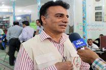استقرار سومین تیم درمانی بسیج جامعه پزشکی هرمزگان در منطقه زلزله زده کرمانشاه