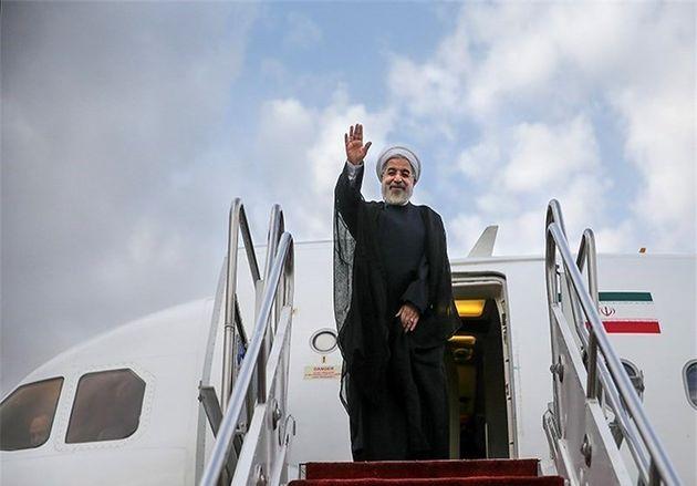 روحانی تهران را به مقصد سوئیس ترک کرد