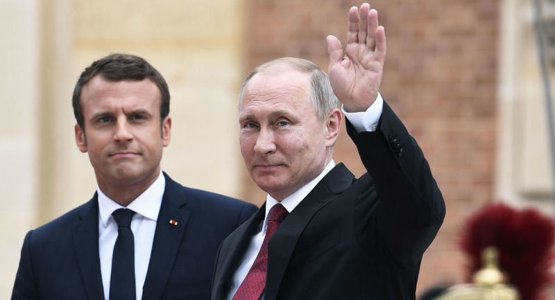 محور گفت و گوی پوتین و ماکرون اعلام شد