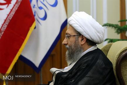 صادق آملی لاریجانی رییس قوه قضاییه
